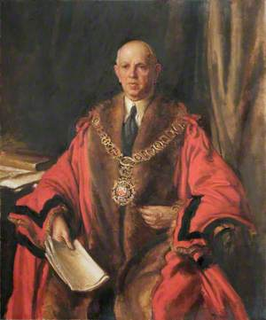 William George Barrenger, Mayor of Hornsey (1925–1927)