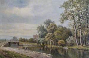 Stonebridge Lock, River Lea