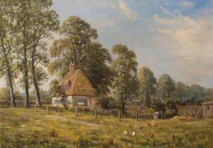 Cottage near the Church Path, White Hart Lane, Tottenham