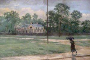 Wood Green Common and Moat House, 1895