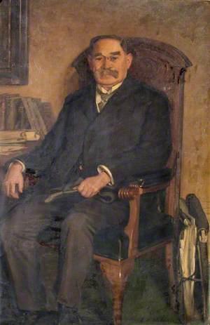 Major P. B. Malone, MP, JP
