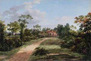 Spottons Farm from Colney Hatch Lane