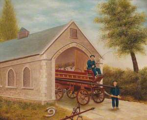 First Fire Station, Wood Green, 1873