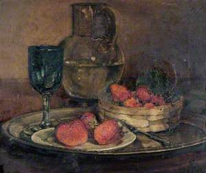 Still Life with Strawberries