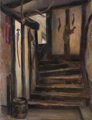 'Chandos Arms', High Street, Edgware, Staircase