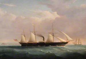 RMS 'Severn' in the Bristol Channel
