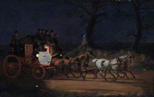 Mail Coach at Night