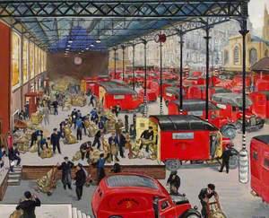 A London Loading Platform
