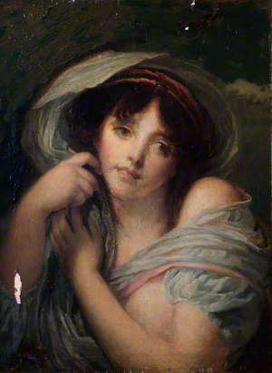 Portrait of a Young Woman, Draped