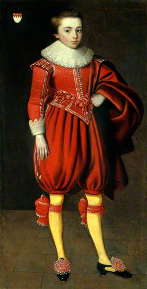 Portrait of a Young Man from the Perceval Family