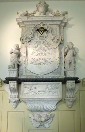 Funerary Monument to Sir Robert Geffery and His Wife, Percilla