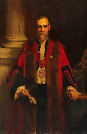 Edward Gates, Mayor of Shoreditch (1901–1902)