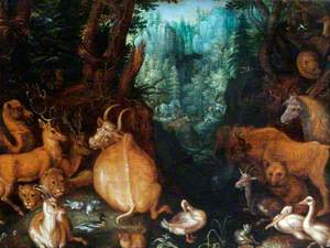 Numerous Animals with Orpheus (Orpheus Charming the Animals)