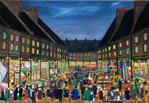 A Market Place, Petticoat Lane