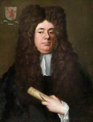 William Petyt (1640–1707), Holding a Copy of the Magna Carta