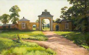 Entrance Gates to Dyrham Park Estate