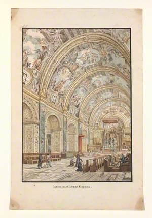 Inside of St John's Church