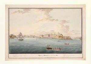 View of Malta, Taken from the Sea