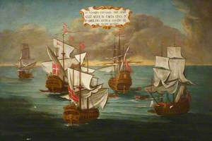 Order of St John Squadron for Battle off Carthage