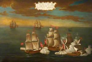 Capture of a Turkish Ship off Carthage