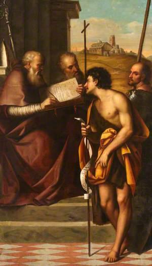 Saint John the Baptist, Saint John Chrysostom, Saint John the Evangelist and Saint Theodore