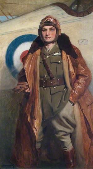 Lieutenant F. J. E. Stafford (d.1917), Royal Flying Corps