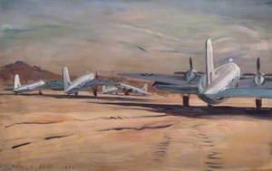 RAF Valettas at Fayid