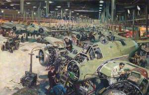 Bristol Aircraft Company Assembly Line
