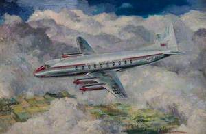 Vickers Viscount in BEA Livery