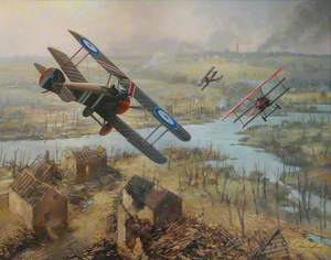 Last Flight of Baron von Richthofen
