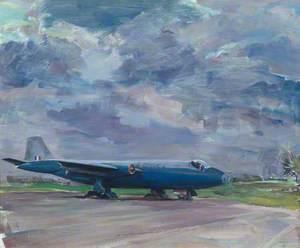 Canberra PR3 at RAF Wyton