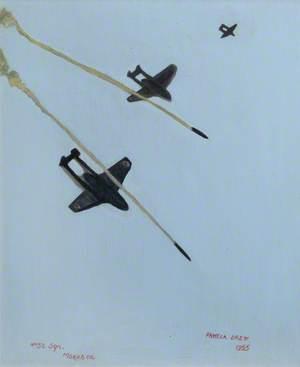 Rocket Firing Venoms at Morphou Bay, Cyprus