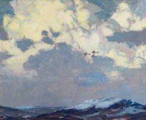 Three Aircraft in a Seascape