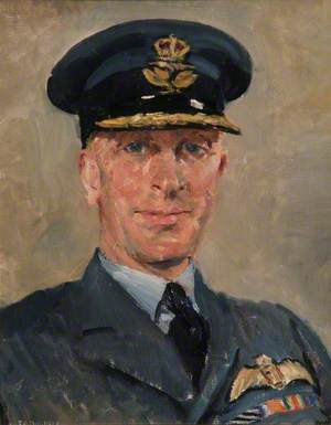 Portrait of an Unidentified Group Captain