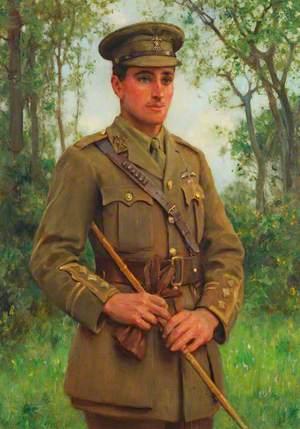 Captain Richard Maybery (1895–1917), Royal Flying Corps
