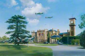 The Officers' Mess, RAF Bentley Priory