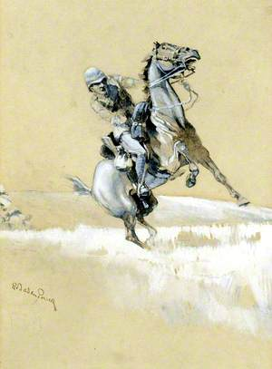 Soldier on a Horse