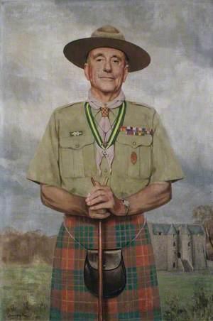 Lord Rowallan (1895–1977), KT, KBE, MC, TD, LLD, DL, as Chief Scout