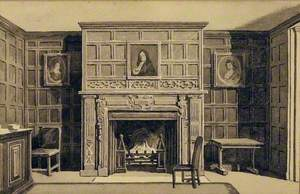 Fireplace at Parsloes