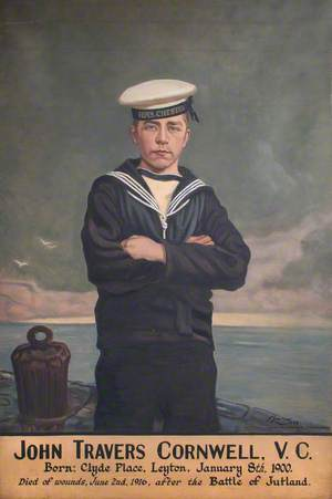 John Travers Cornwell (1900–1916), VC