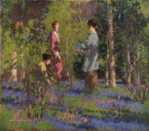 Picking Bluebells