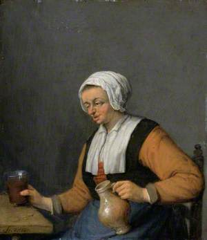 A Woman with a Beer Jug