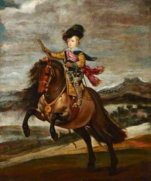 The Infante Baltasar Carlos on Horseback