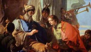 Joseph Receiving Pharaoh's Ring