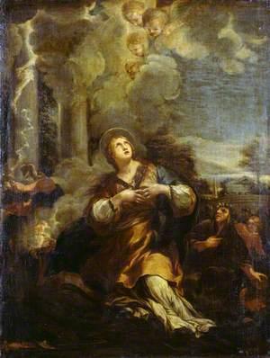 Saint Martina Calling Down Lightning on the Idols