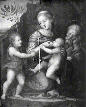 Holy Family with Saint John