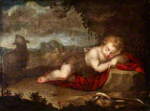 The Infant Saint John Asleep