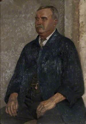 Darkie, Caretaker at Liverpool School of Art