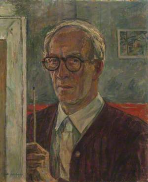 Self Portrait, Principal of Goldsmiths College School of Art (1929–1957)