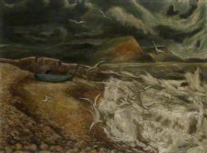 Gulls, Lyme Regis